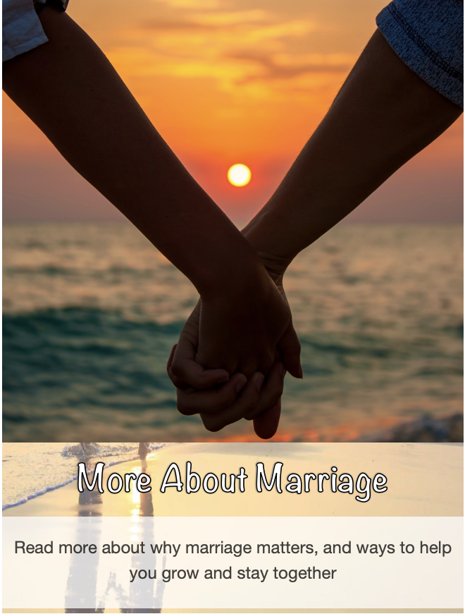 More about marriage