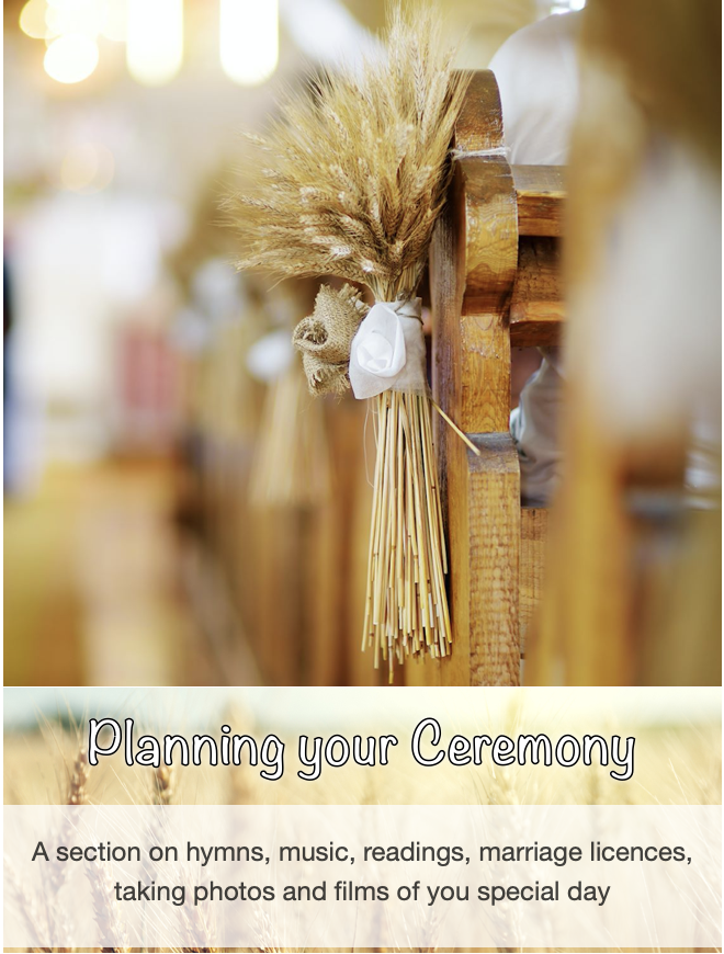 Planning your ceremony